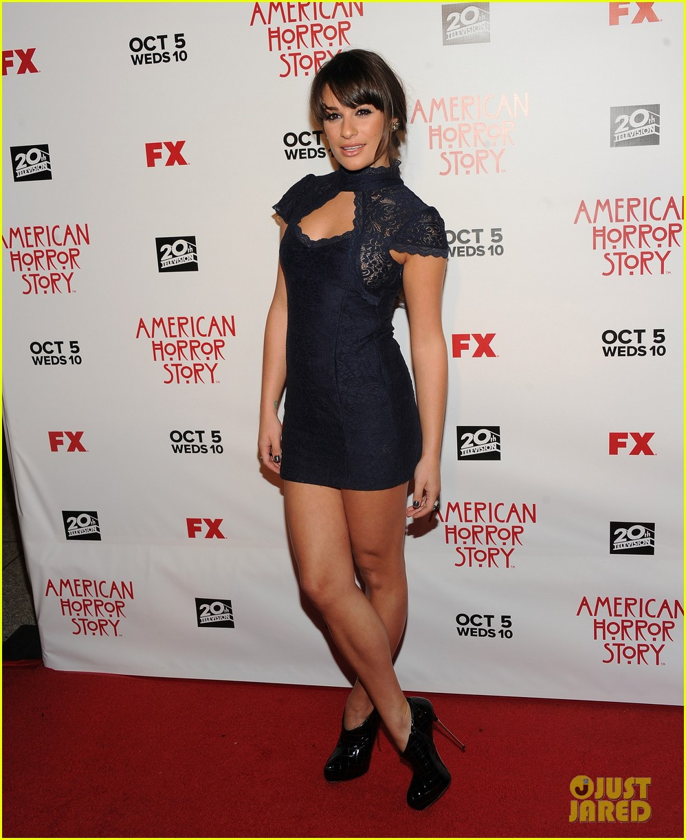 glee cast american horror story premiere 07