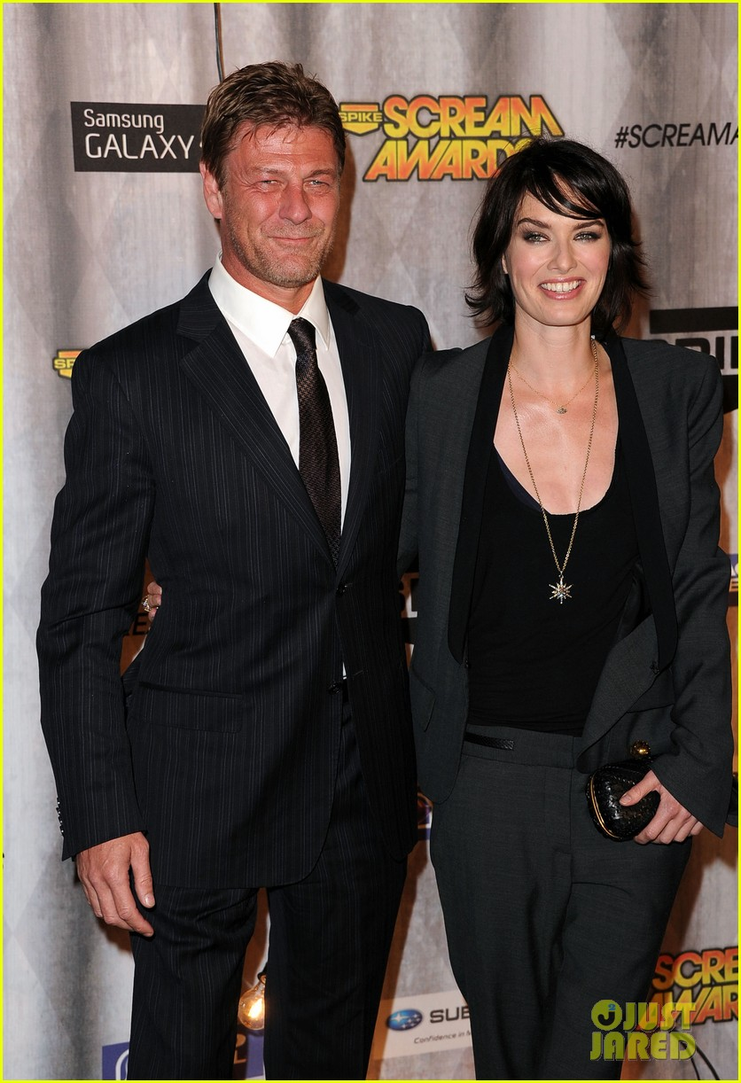 lena headey scream awards 2011 with sean bean 05