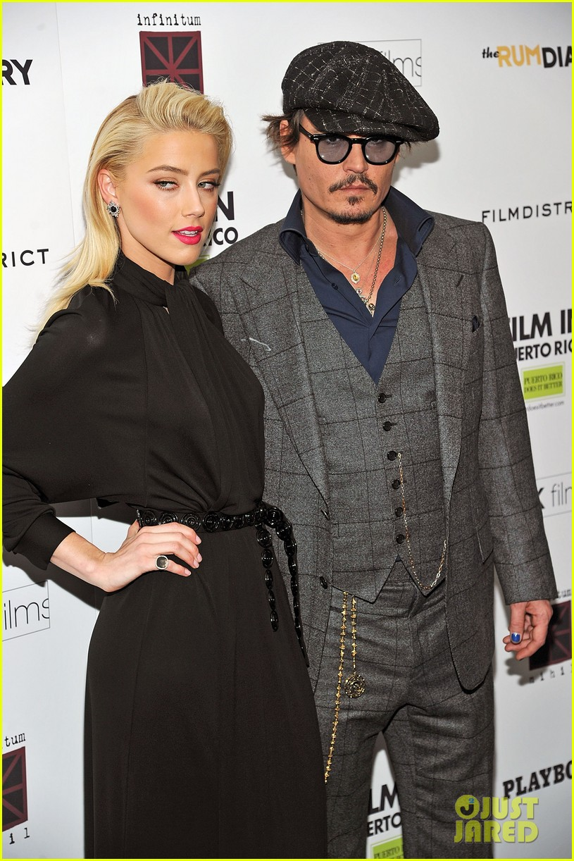 amber heard johnny depp rum diary nyc 02