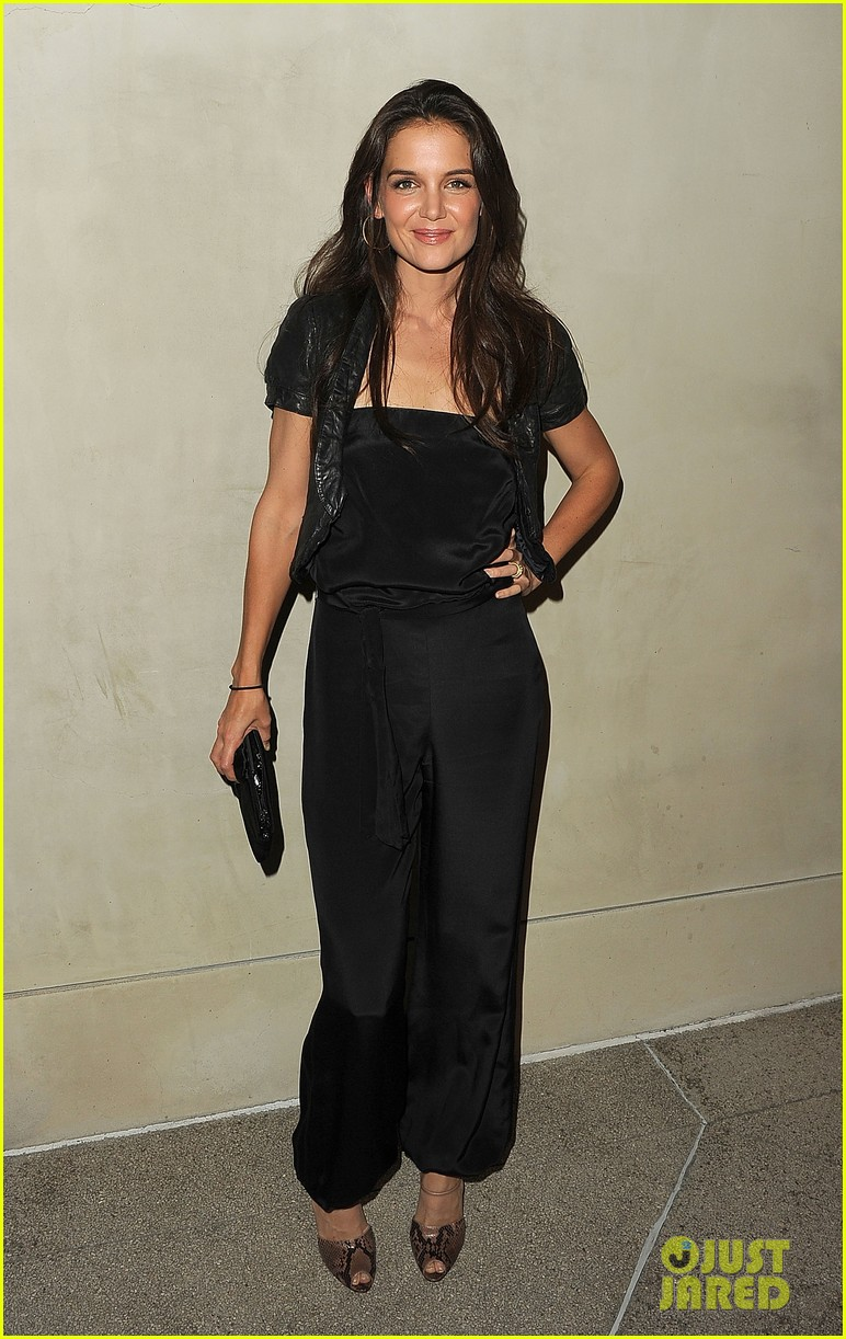 katie holmes giorgio armani vanity fair private dinner 02