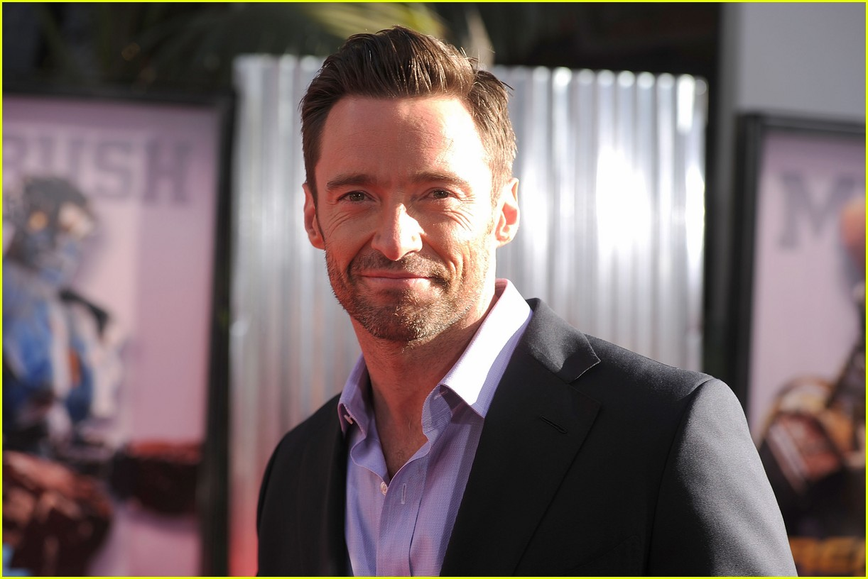 hugh jackman real steel universal city premiere 07