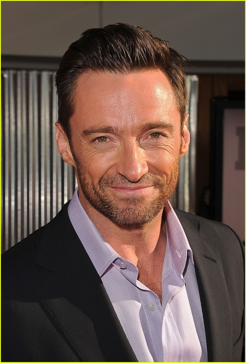 hugh jackman real steel universal city premiere 162586241