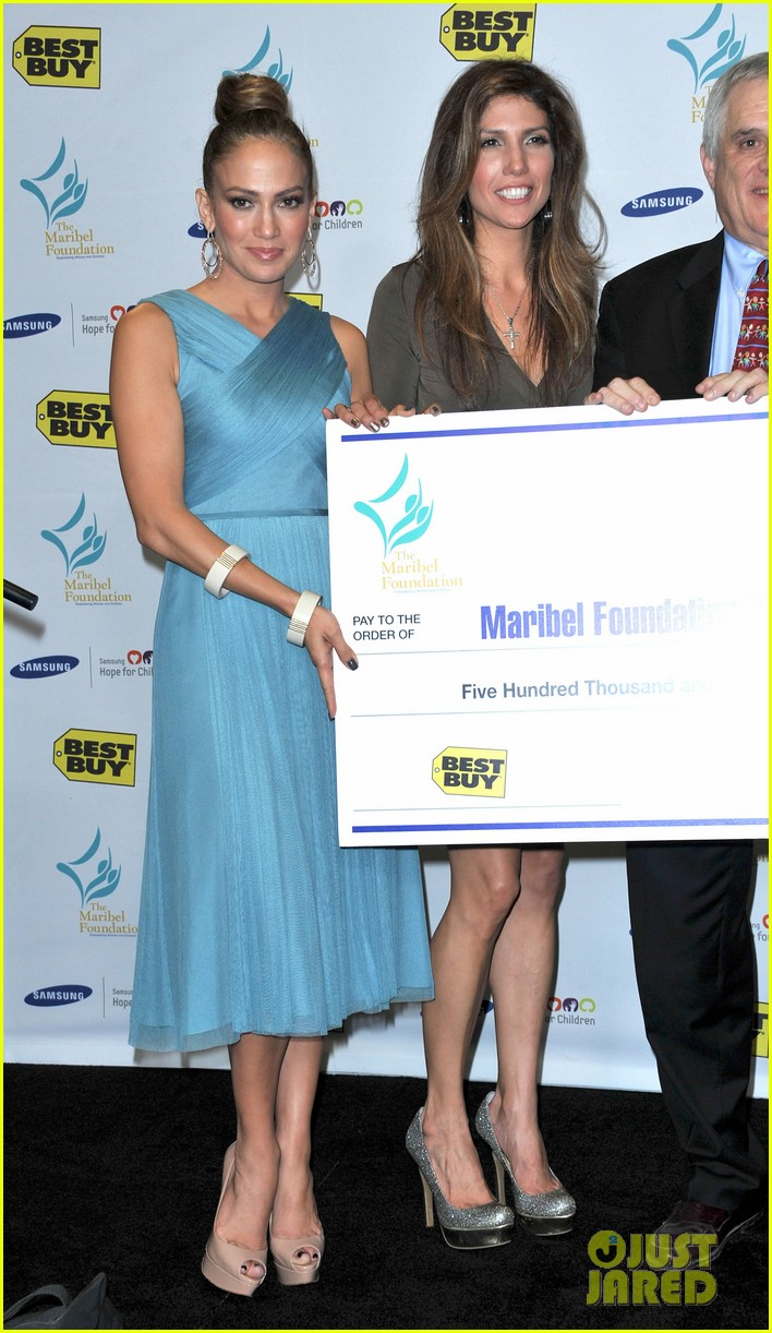 jennifer lopez best buy maribel foundation 08