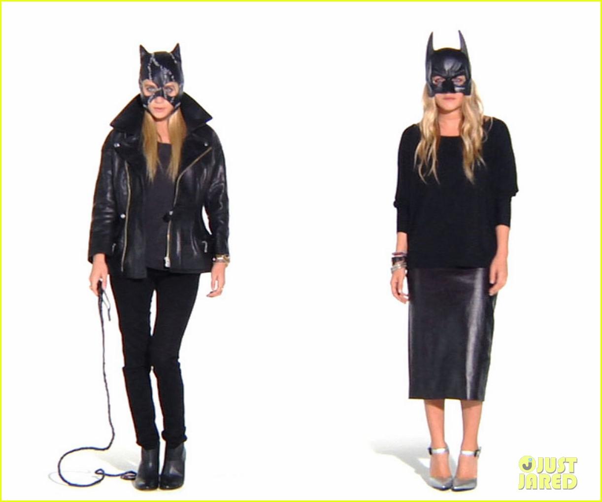 olsen twins batwoman catwoman 05