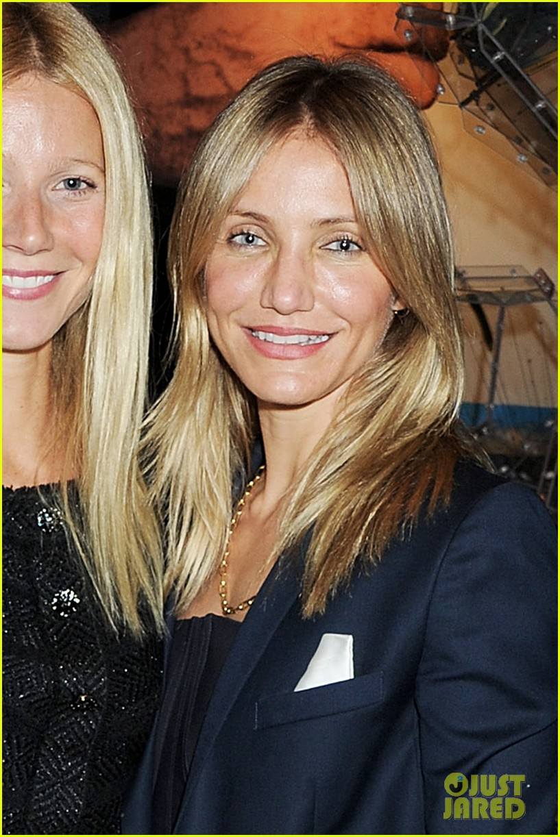 gwyneth paltrow cameron diaz arts club launch 05