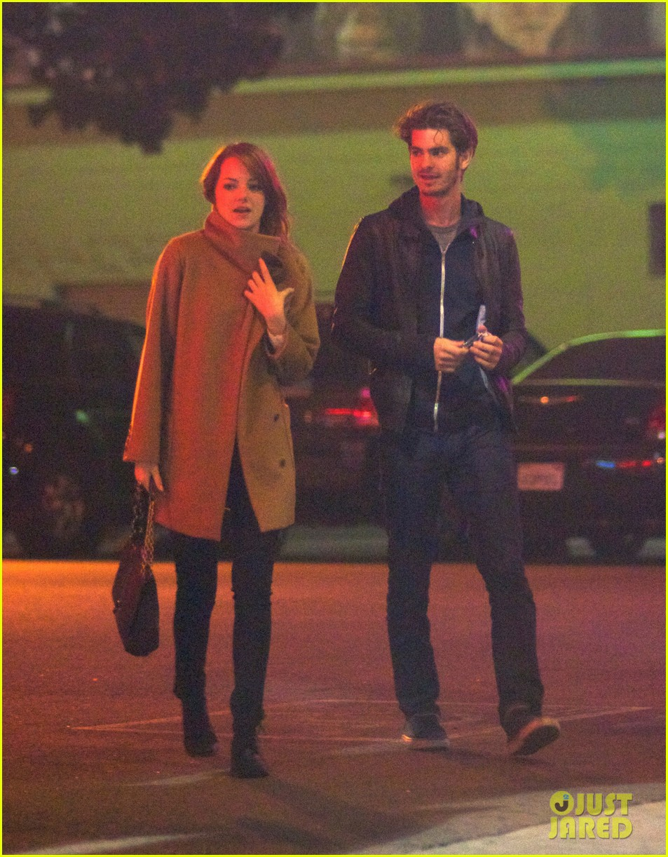 emma stone andrew garfield movies