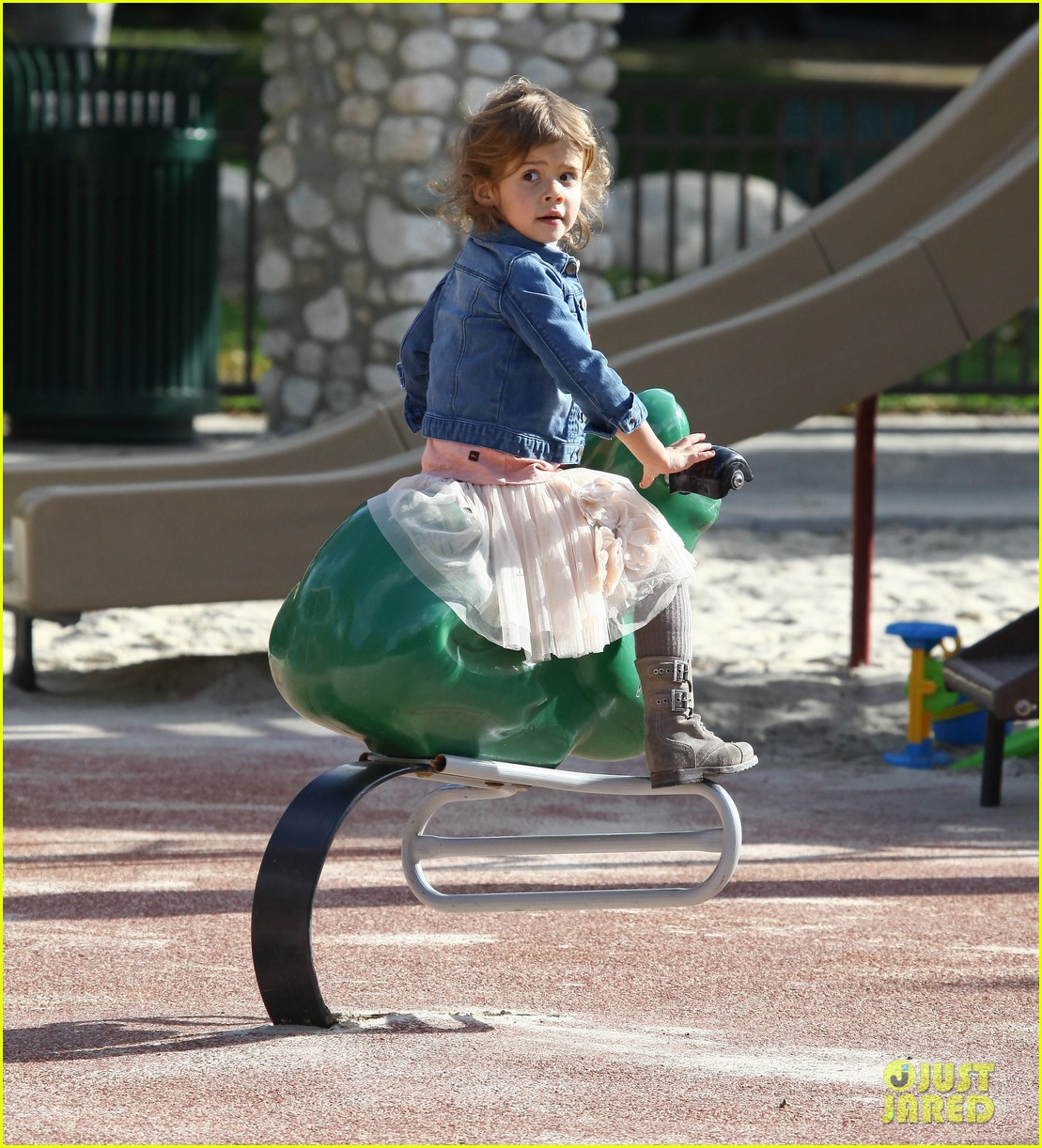 jessica alba park day family 14