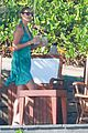 george clooney stacy keibler mexico vacation 03