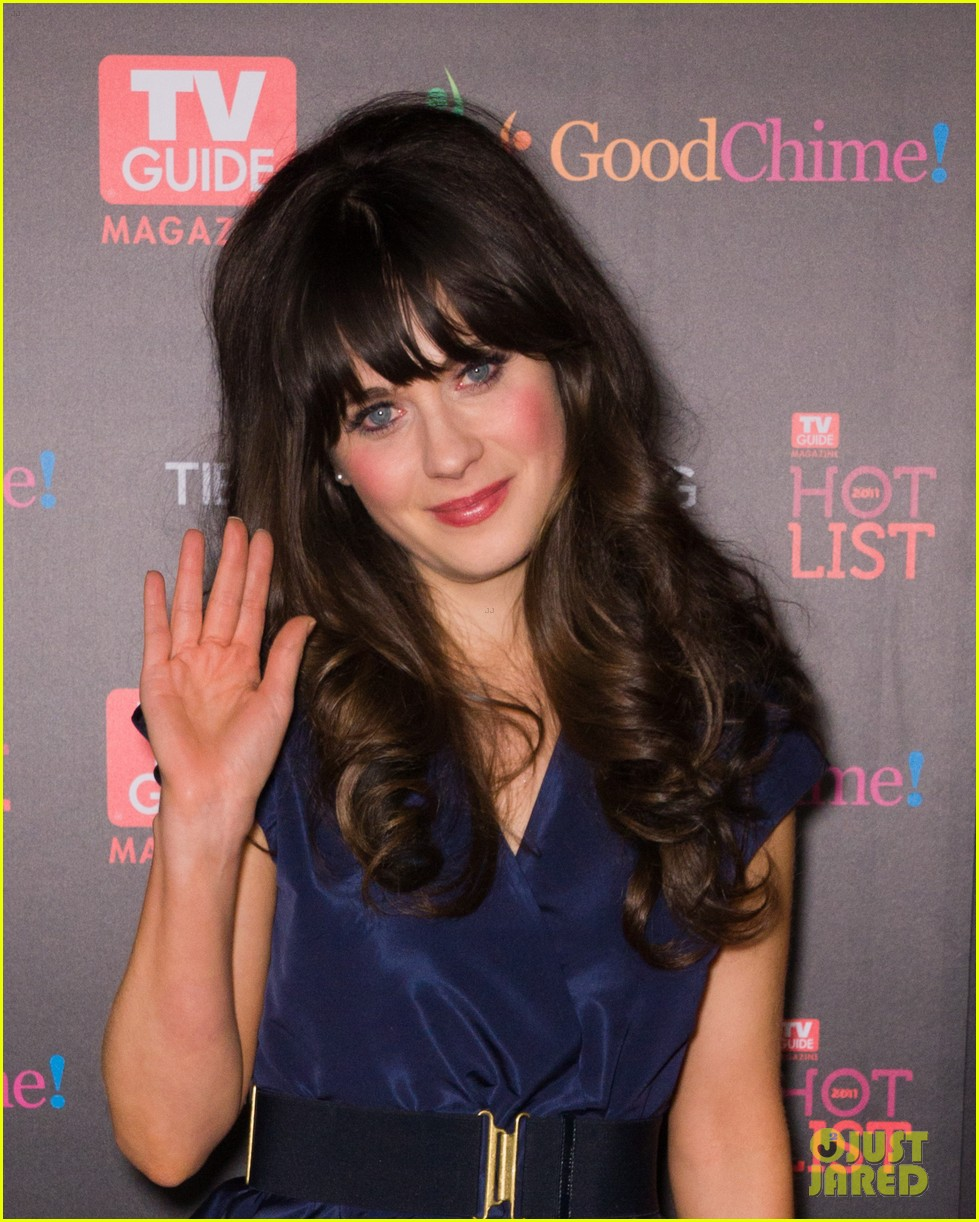zooey deschanel tv guide magazine hot list 02