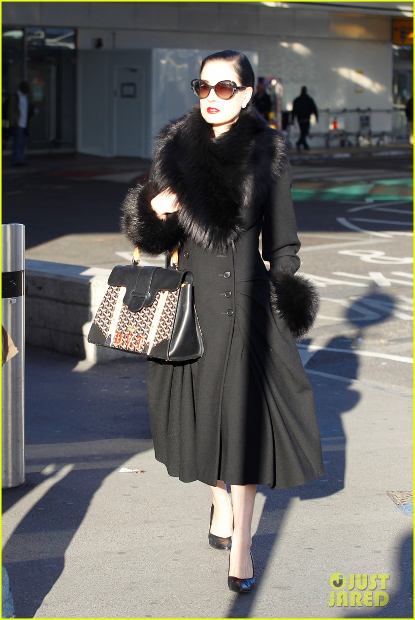 dita von teese luggage london 01