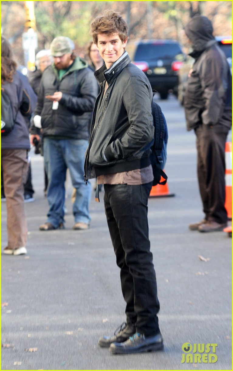 andrew garfield spiderman set 01