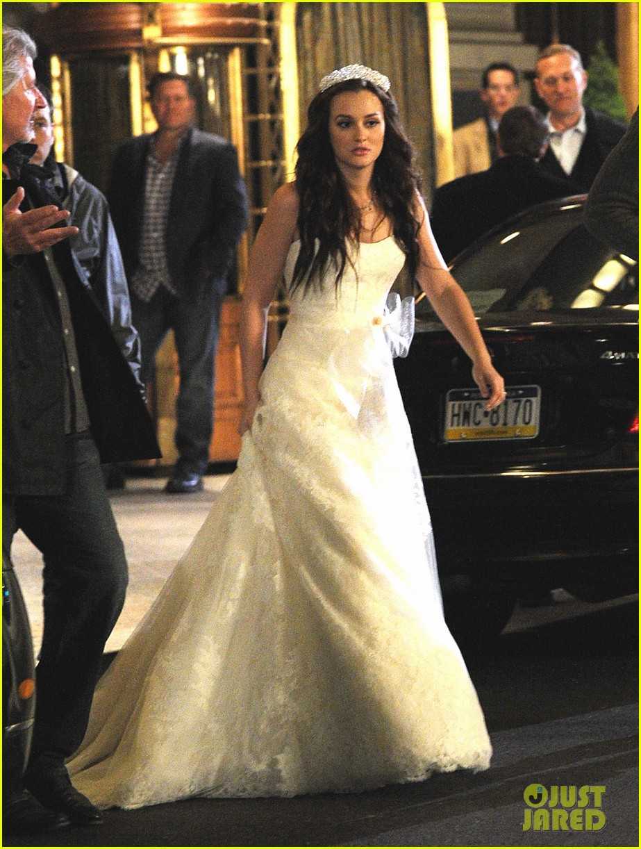 leighton meester gossp girl wedding 03