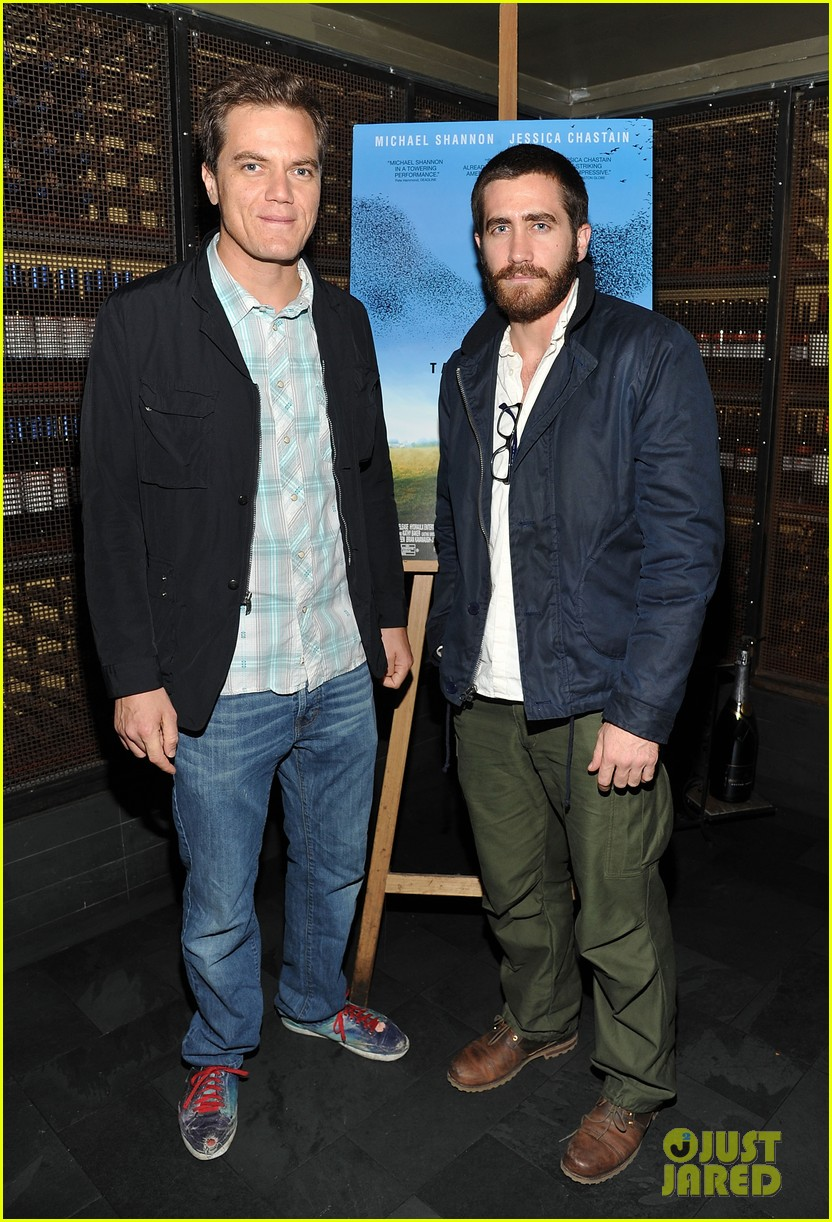 jake gyllenhaal take shelter premiere with michael shannon 02