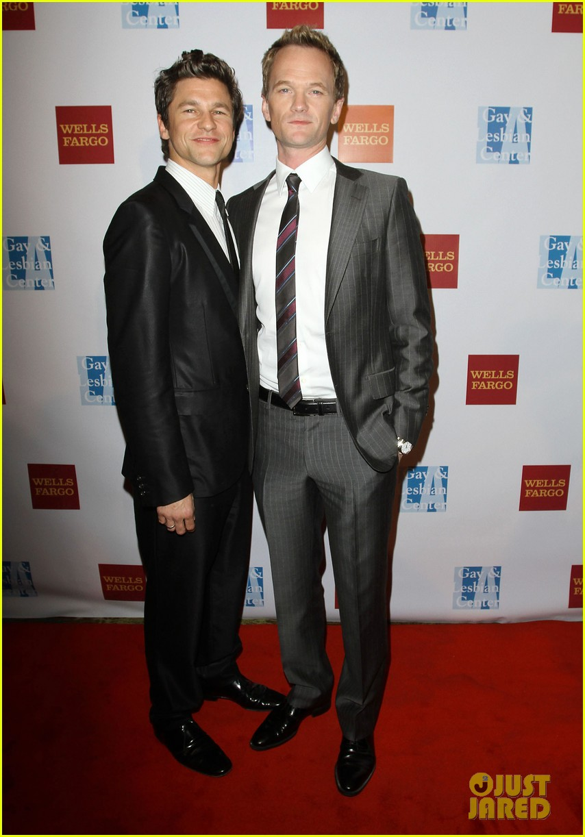 neil patrick harris david burtka la gay centers 40th anniversary gala 01