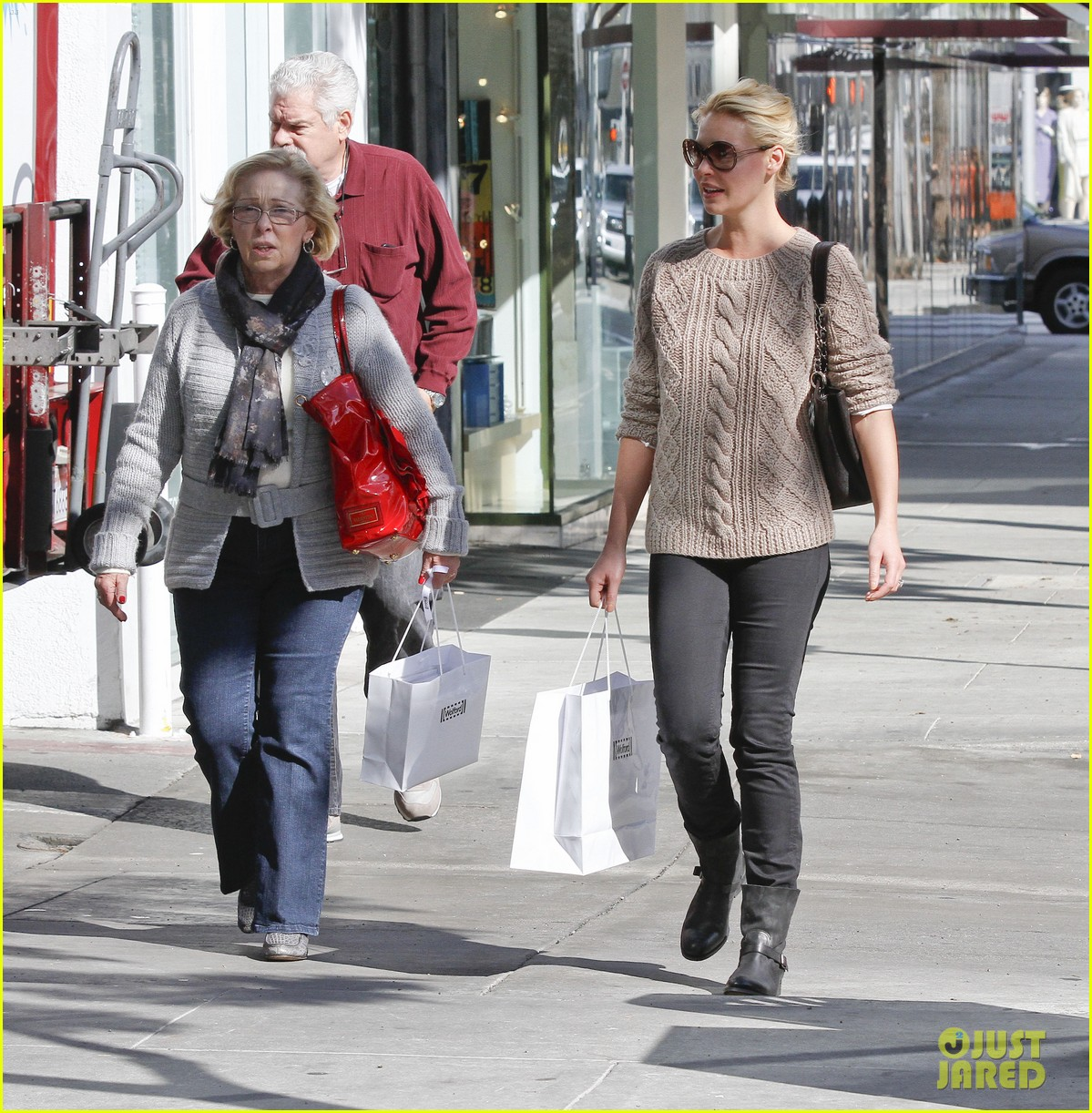 katherine heigl shopping mom dad 12
