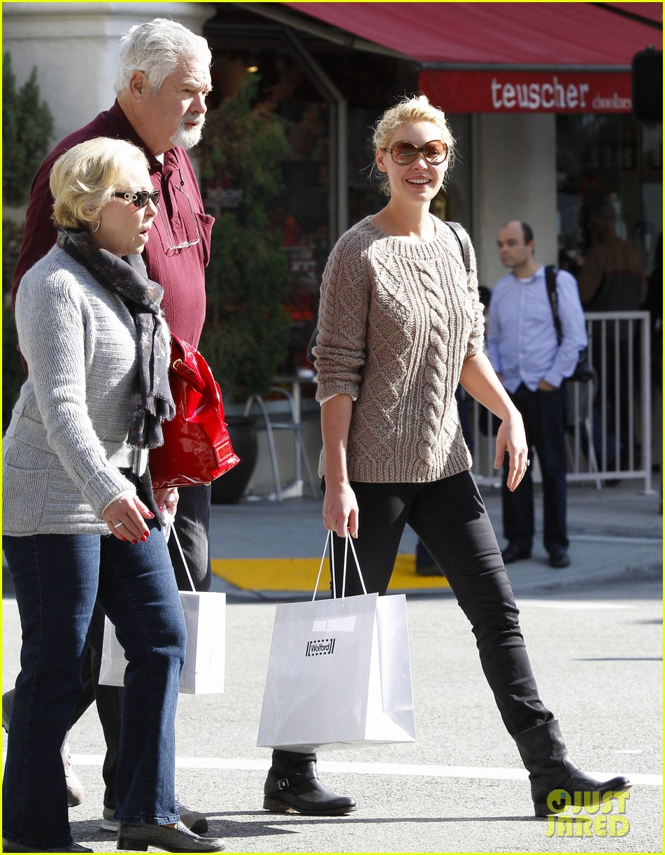 katherine heigl shopping mom dad 18