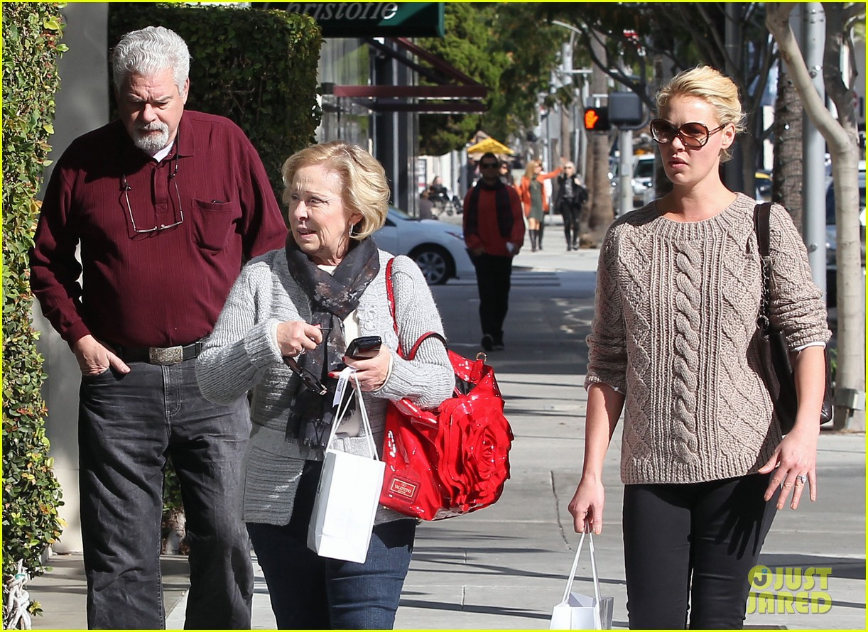 katherine heigl shopping mom dad 25