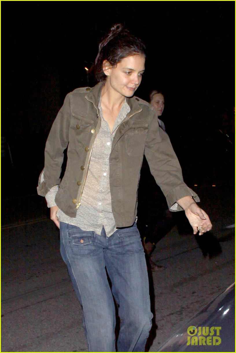 katie holmes night out friend west hollywood 04