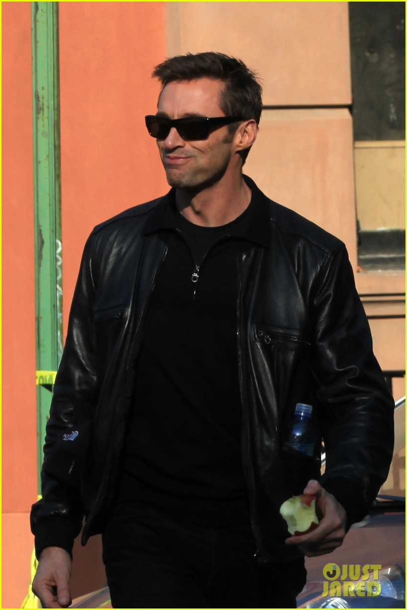 hugh jackman deborra lee furness day out with ava 122596297