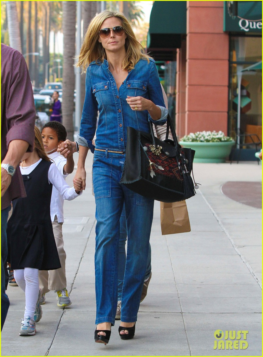 heidi klum denim beverly hills 06