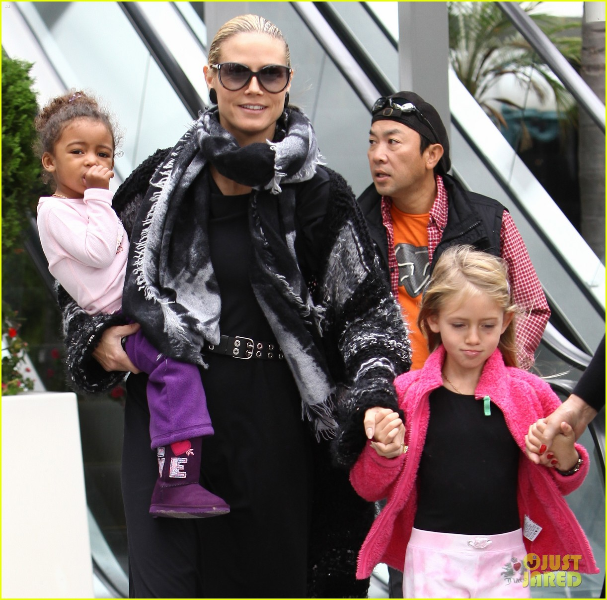 heidi klum ballet kids 04
