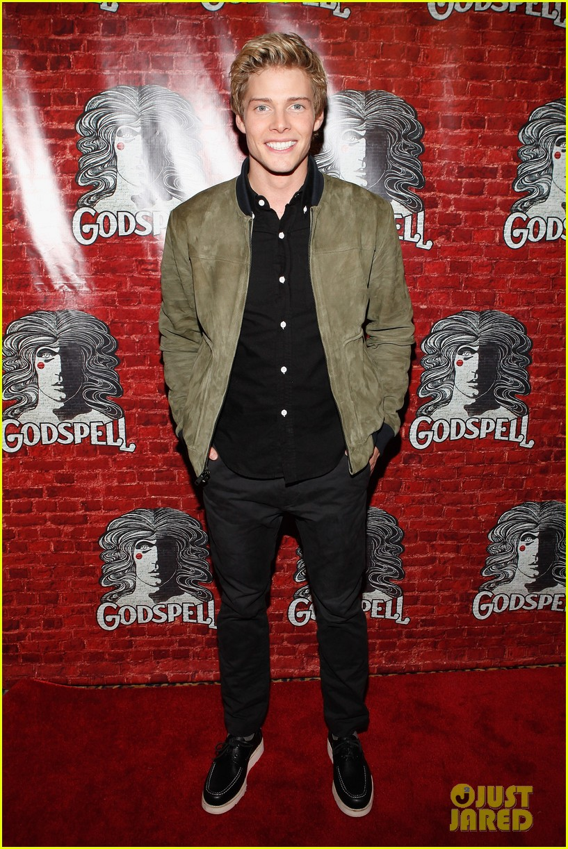 hunter parrish godspell opening night after party 05