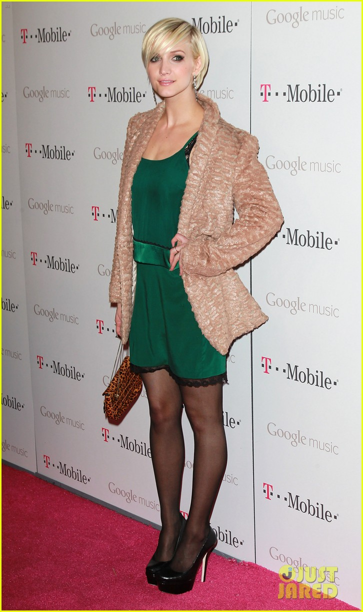 ashlee simpson google music launch 09
