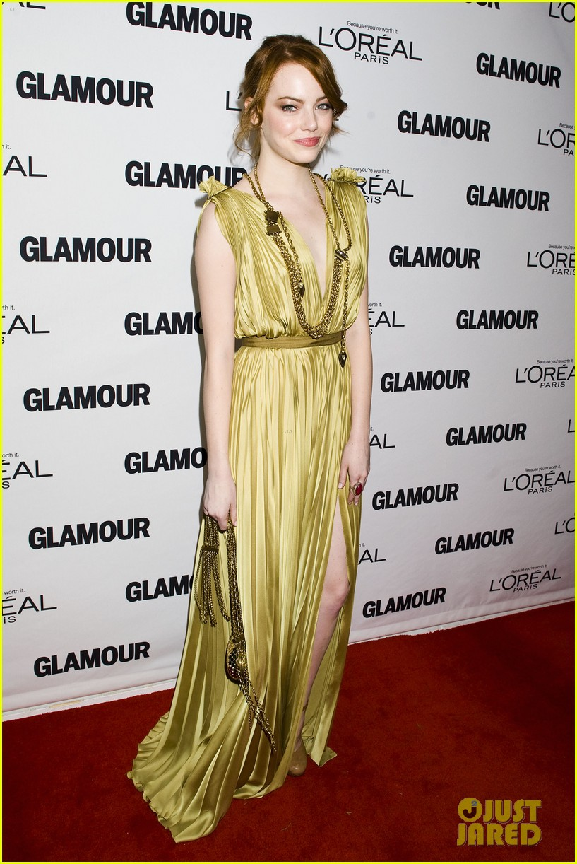 emma stone glamous awards 18