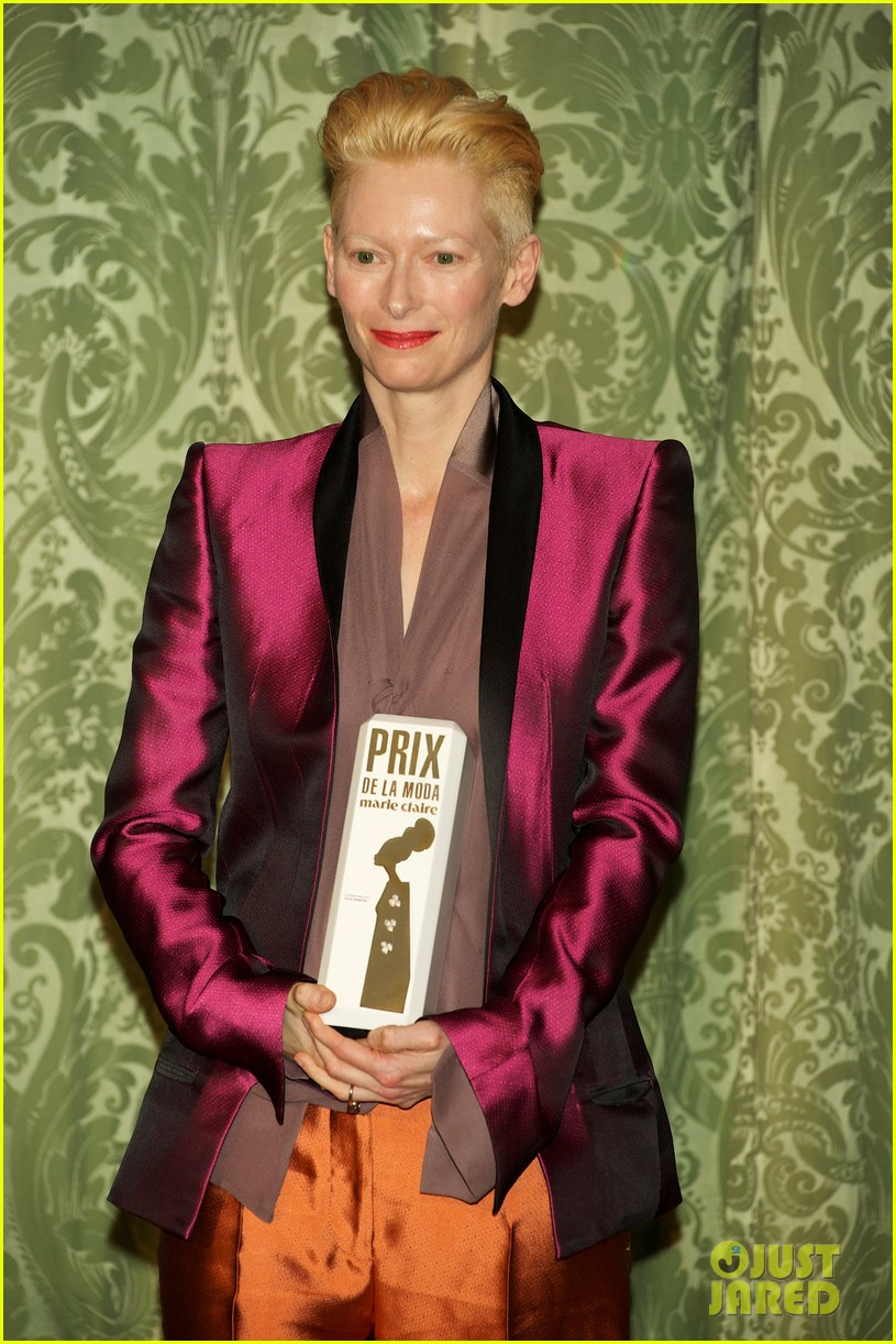 tilda swinton marie claire awards 13