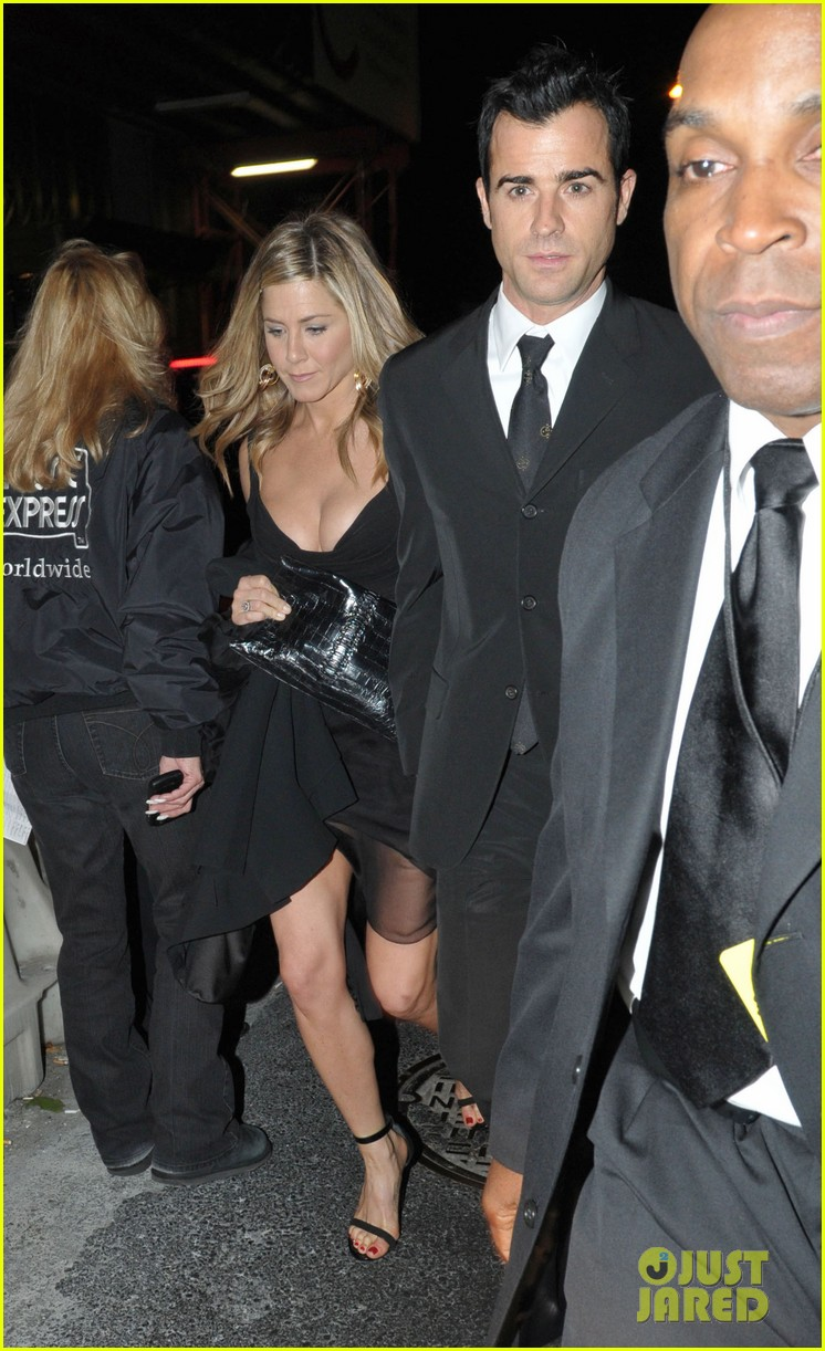jennifer aniston justin theroux glamour party 01