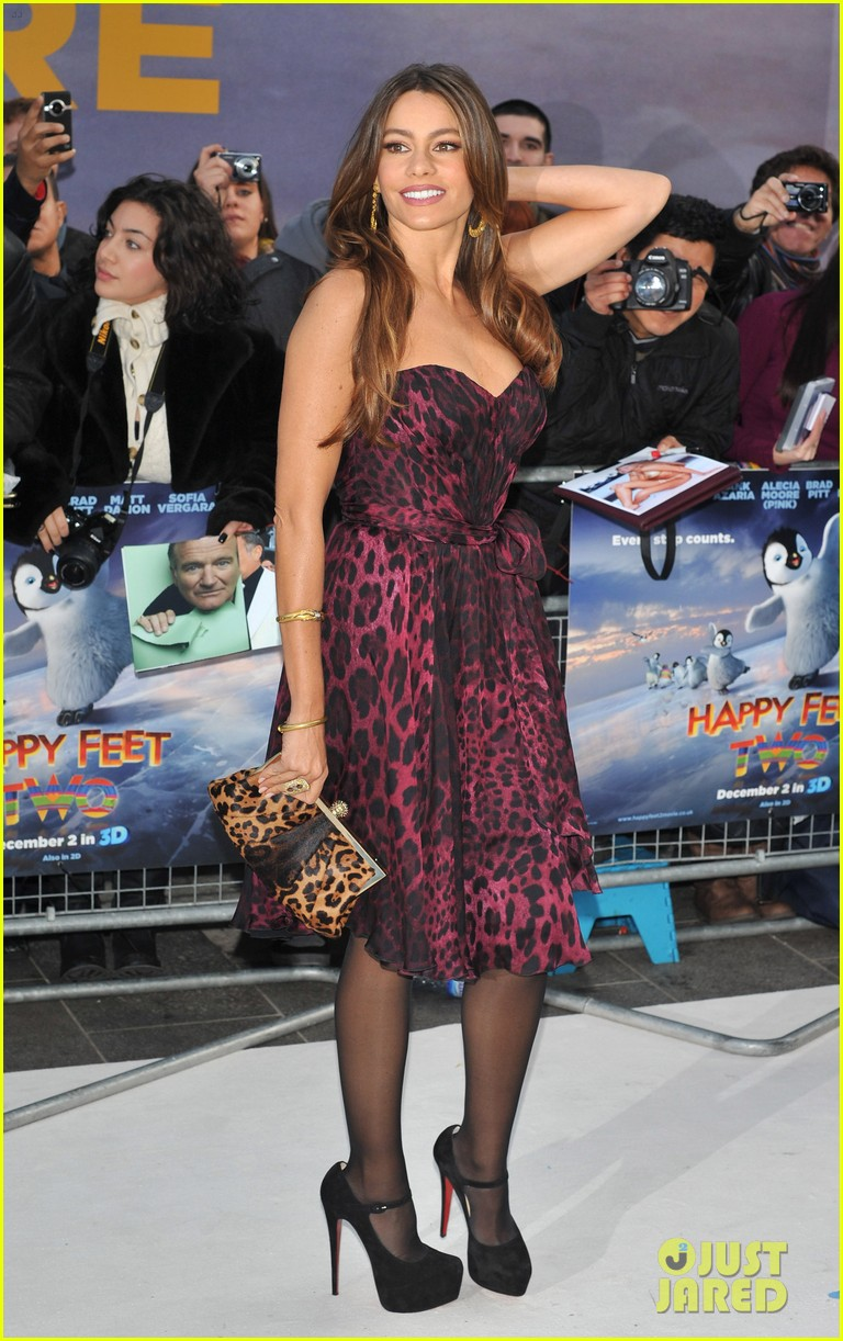 sofia vergara happy feet 2 premiere london 032602308