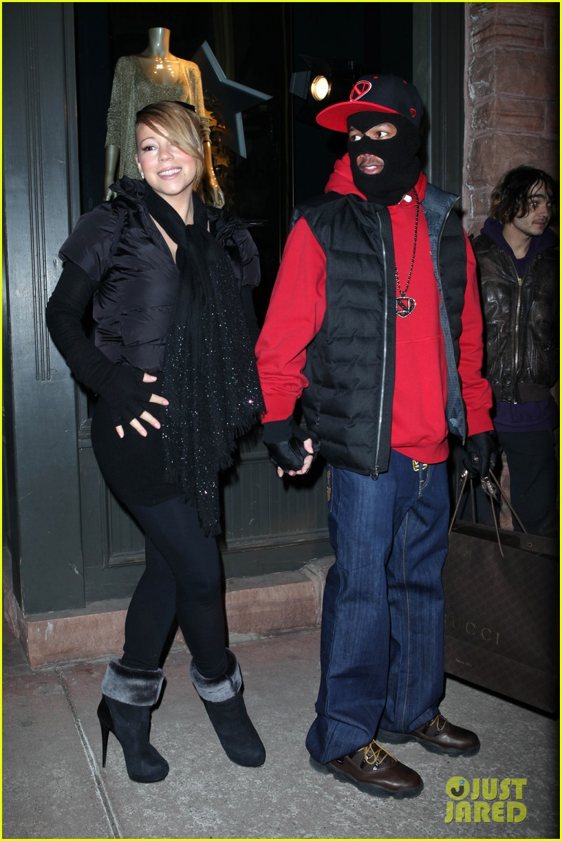 mariah carey shop aspen with nick cannon 012612107