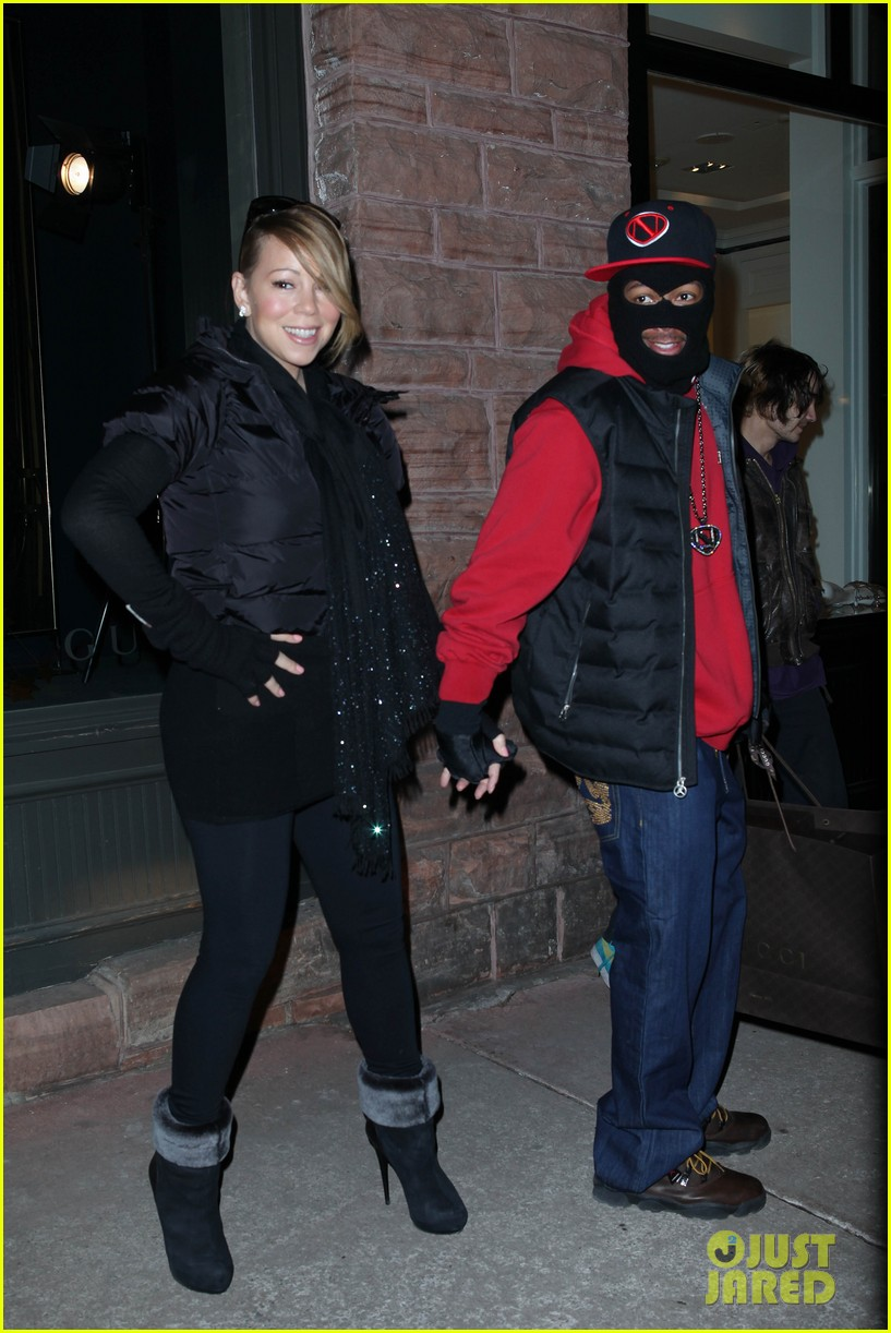 mariah carey shop aspen with nick cannon 11