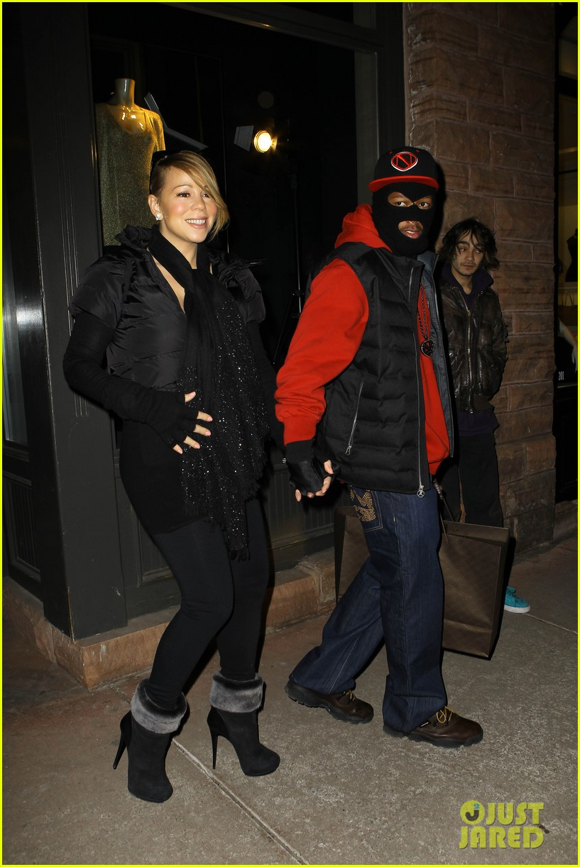 mariah carey shop aspen with nick cannon 14