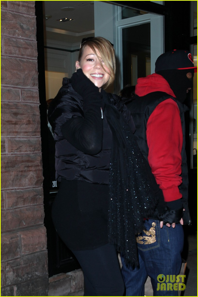 mariah carey shop aspen with nick cannon 17