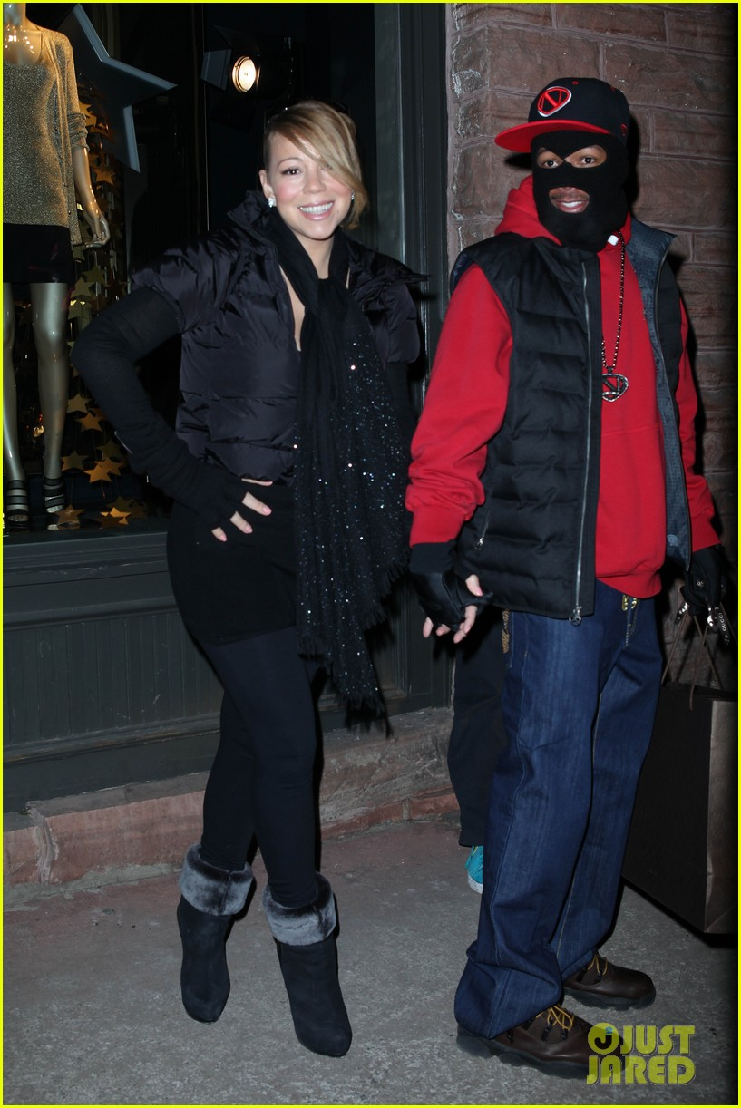 mariah carey shop aspen with nick cannon 28