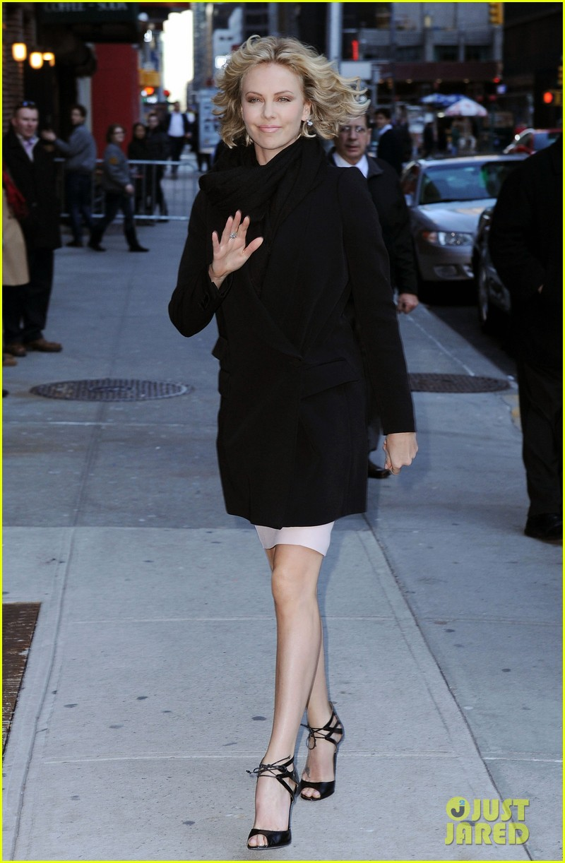 charlize theron letterman 10
