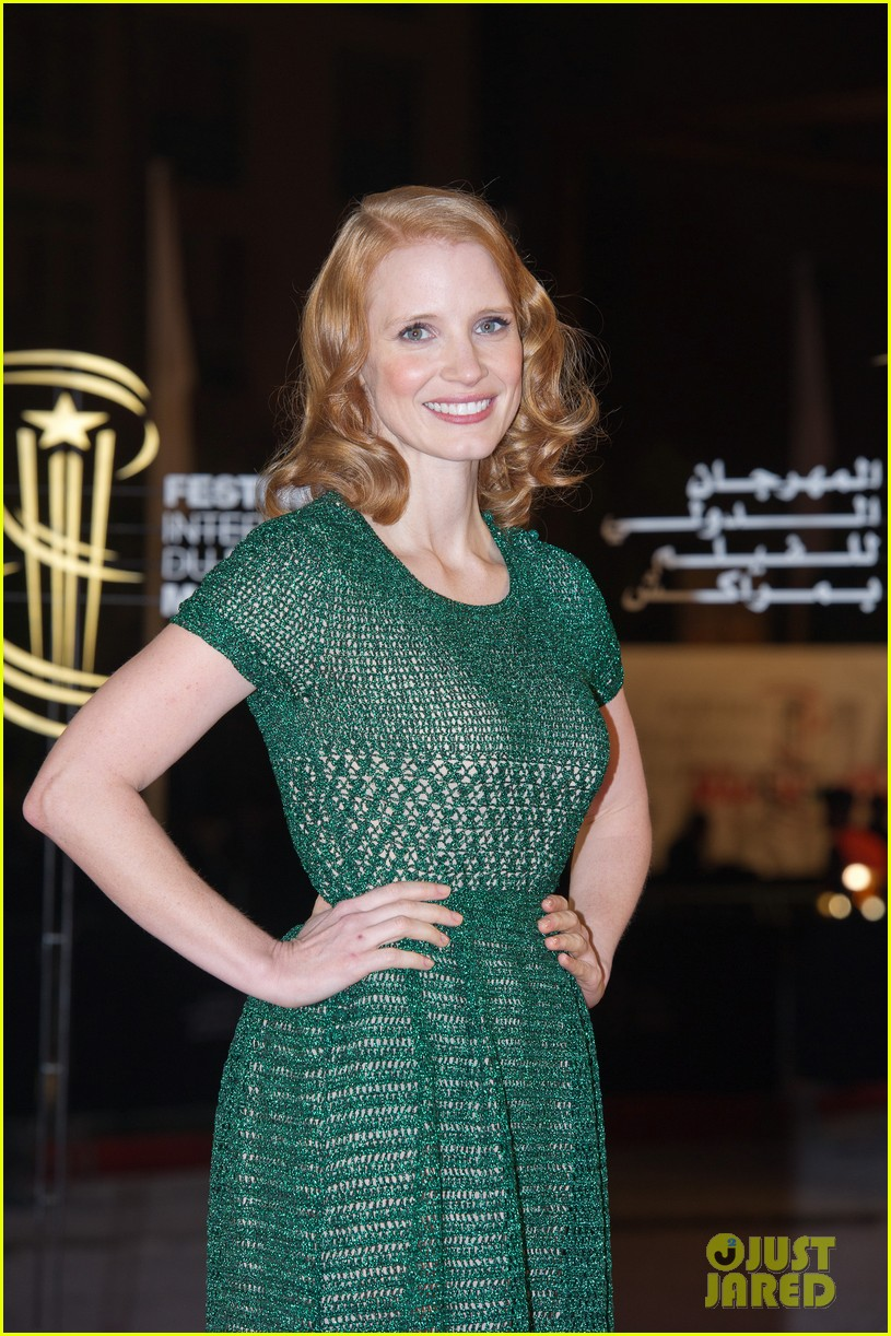 jessica chastain when the night premiere 02