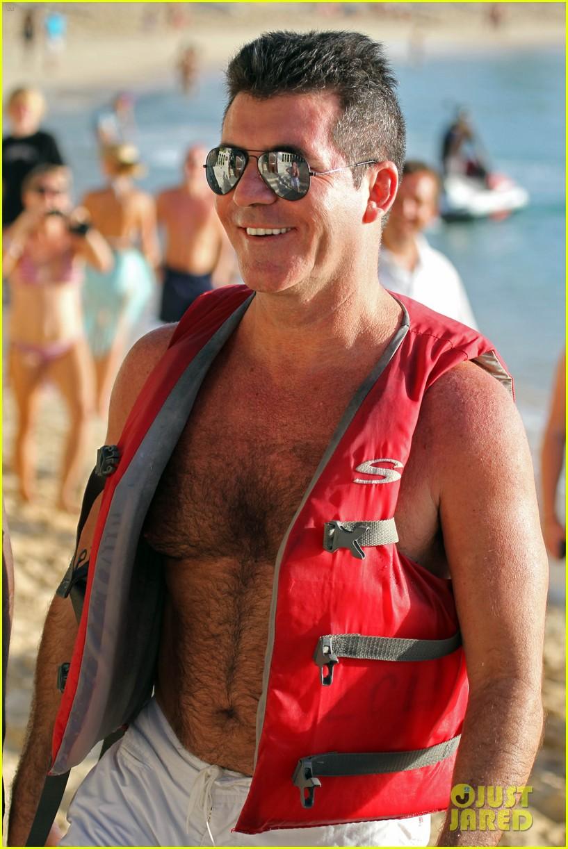 simon cowell shirtless barbados 05