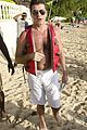 simon cowell shirtless barbados 08