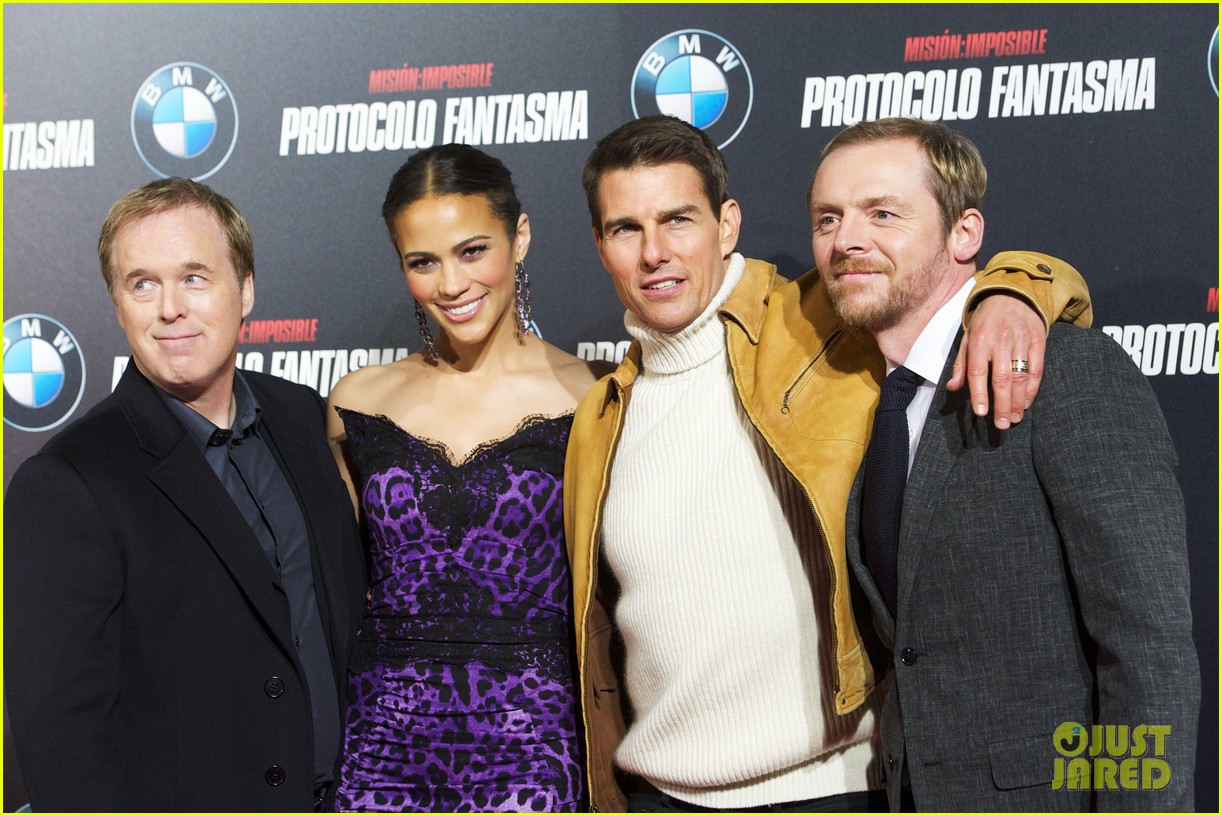 tom cruise paula patton madrid premiere 022609526