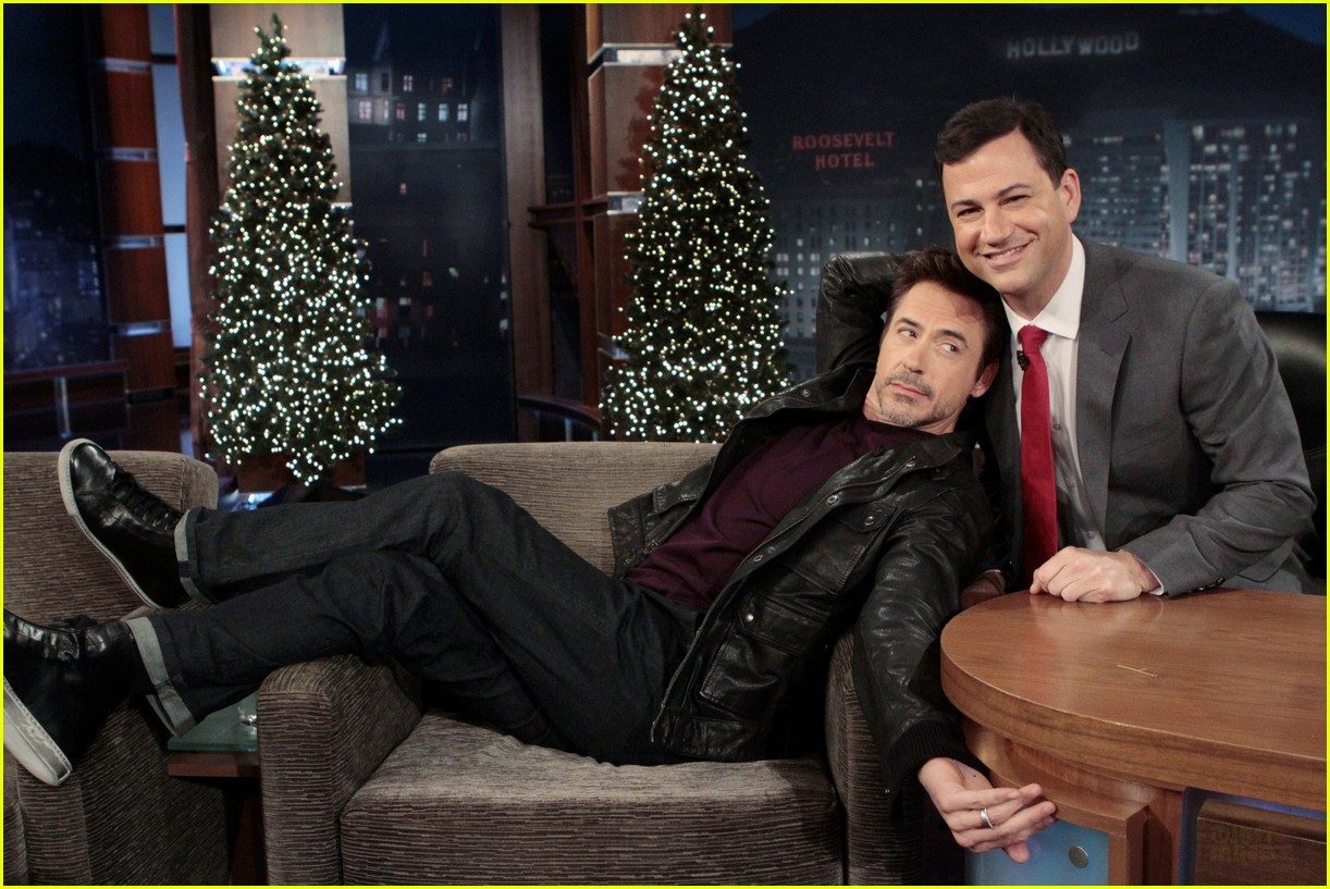 robert downey jr jimmy kimmel live 022610612