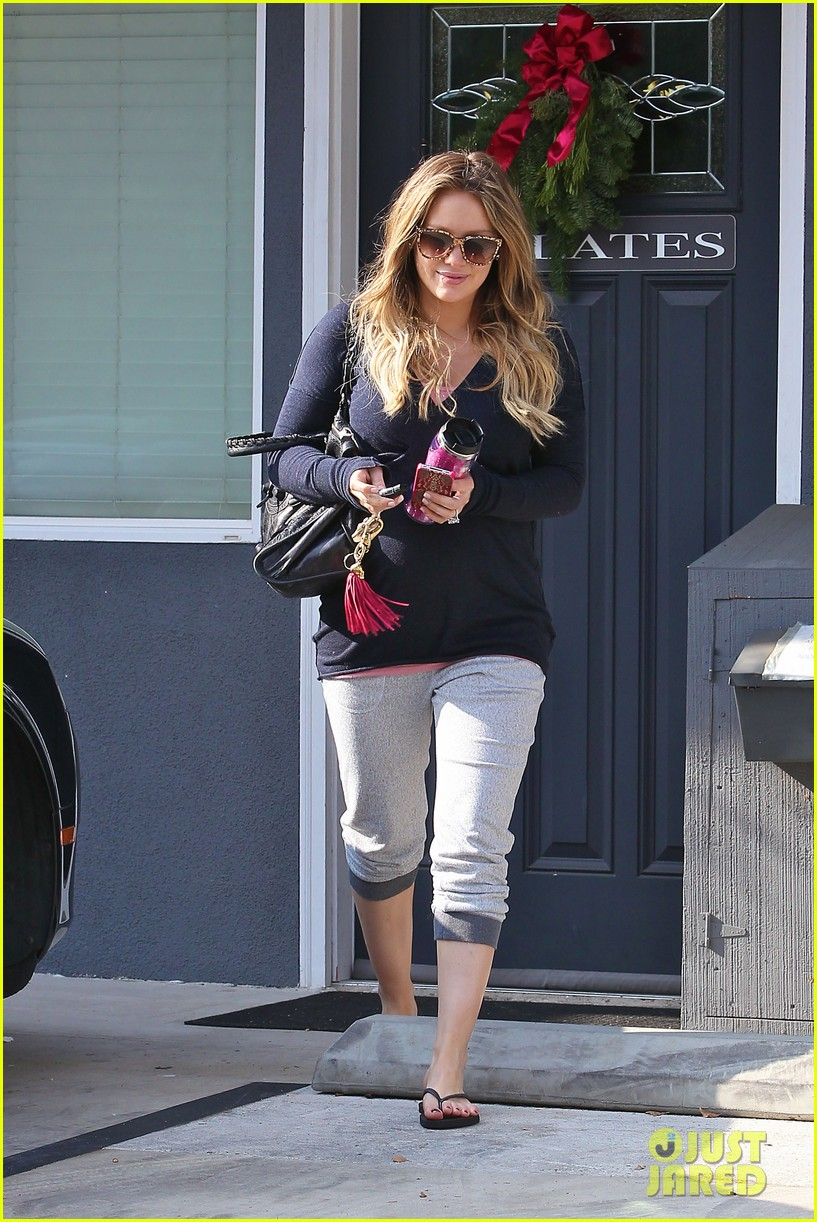 hilary duff pilates toluca lake 02