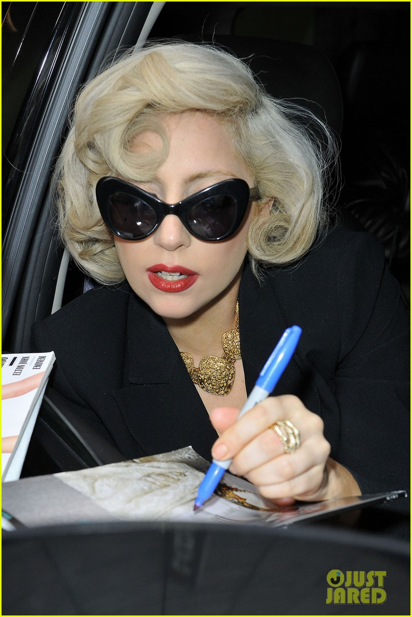 lady gaga marilyn monroe 012609764