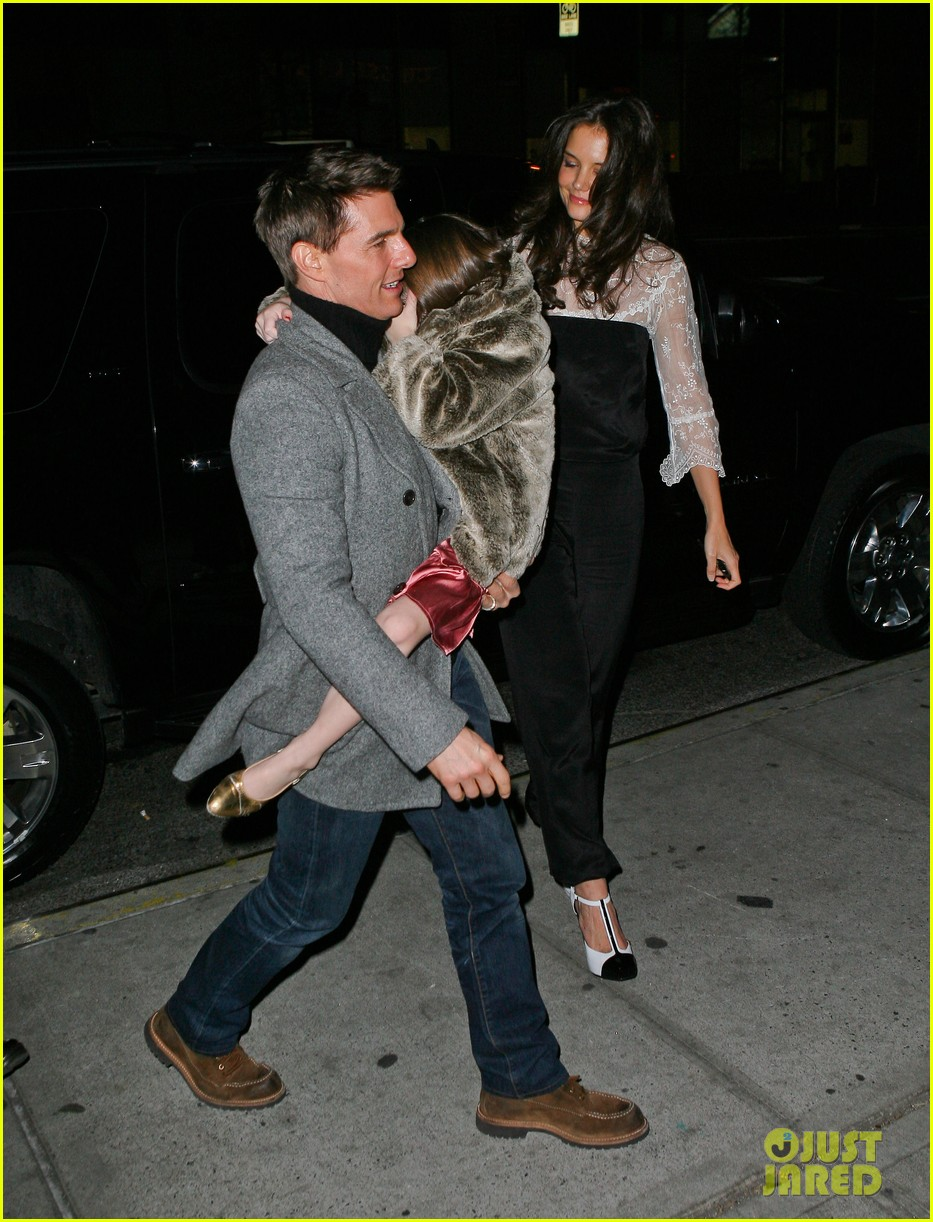 katie holmes tom cruise birthday night out 02