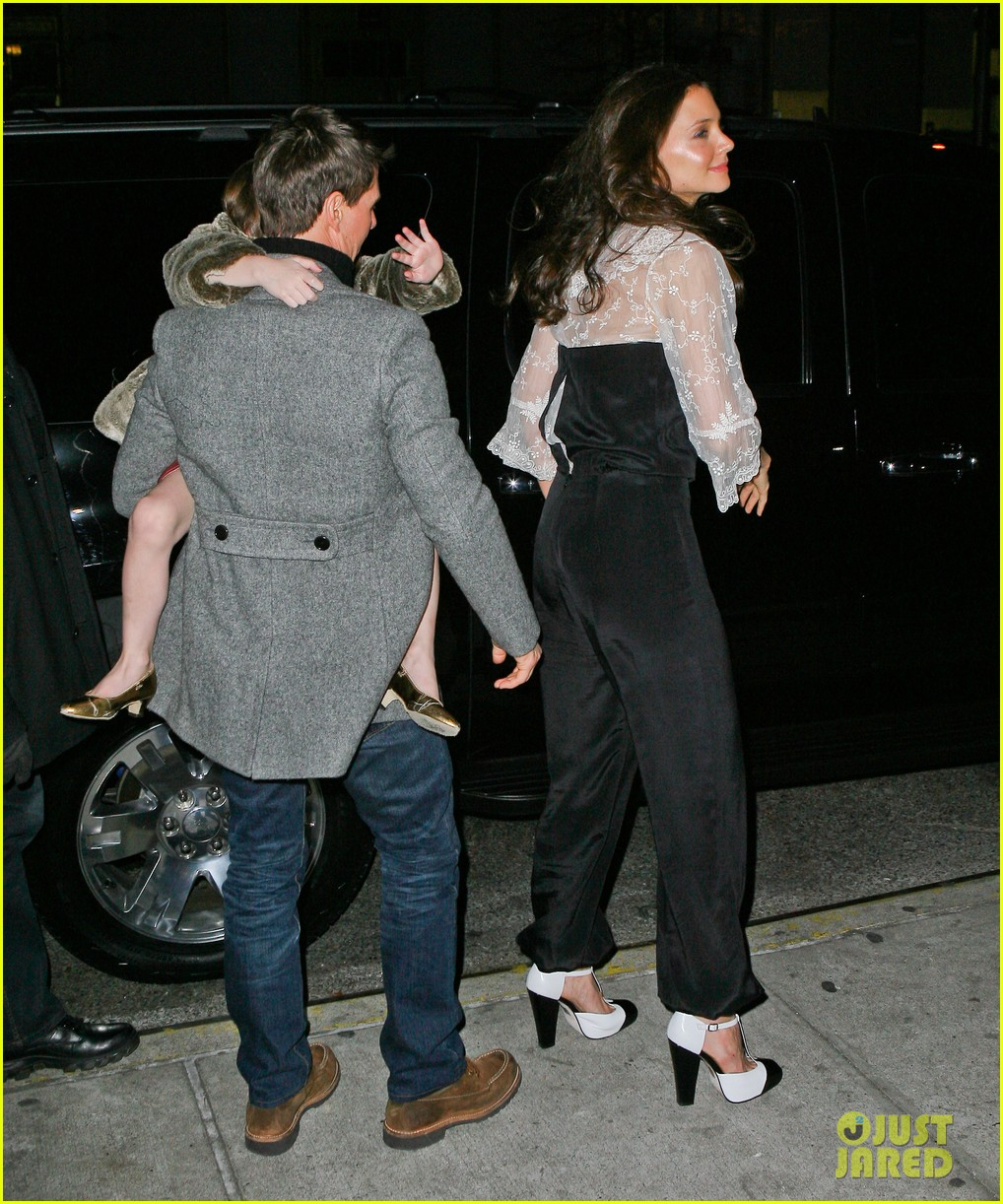 katie holmes tom cruise birthday night out 09