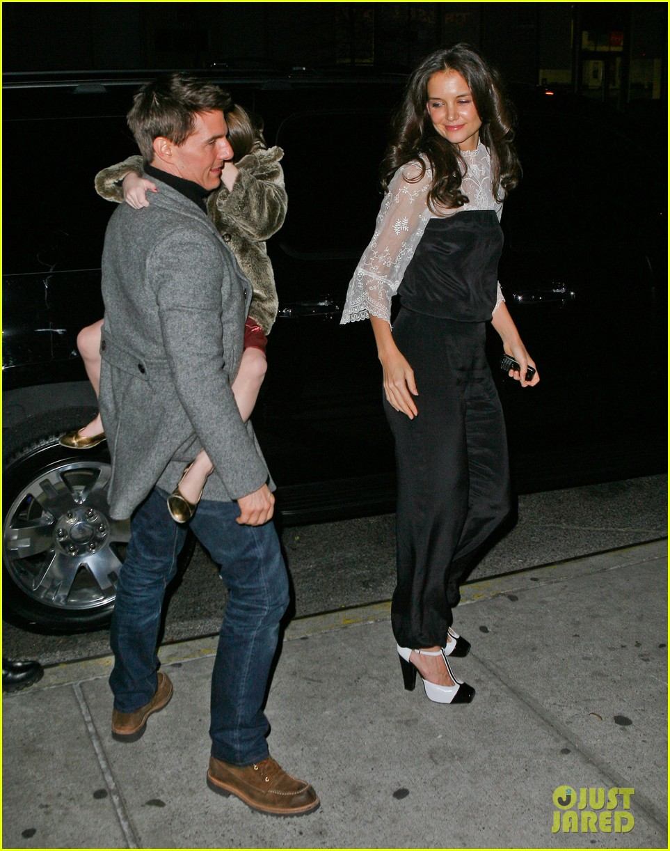 katie holmes tom cruise birthday night out 11
