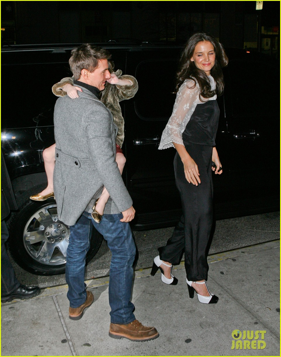katie holmes tom cruise birthday night out 12