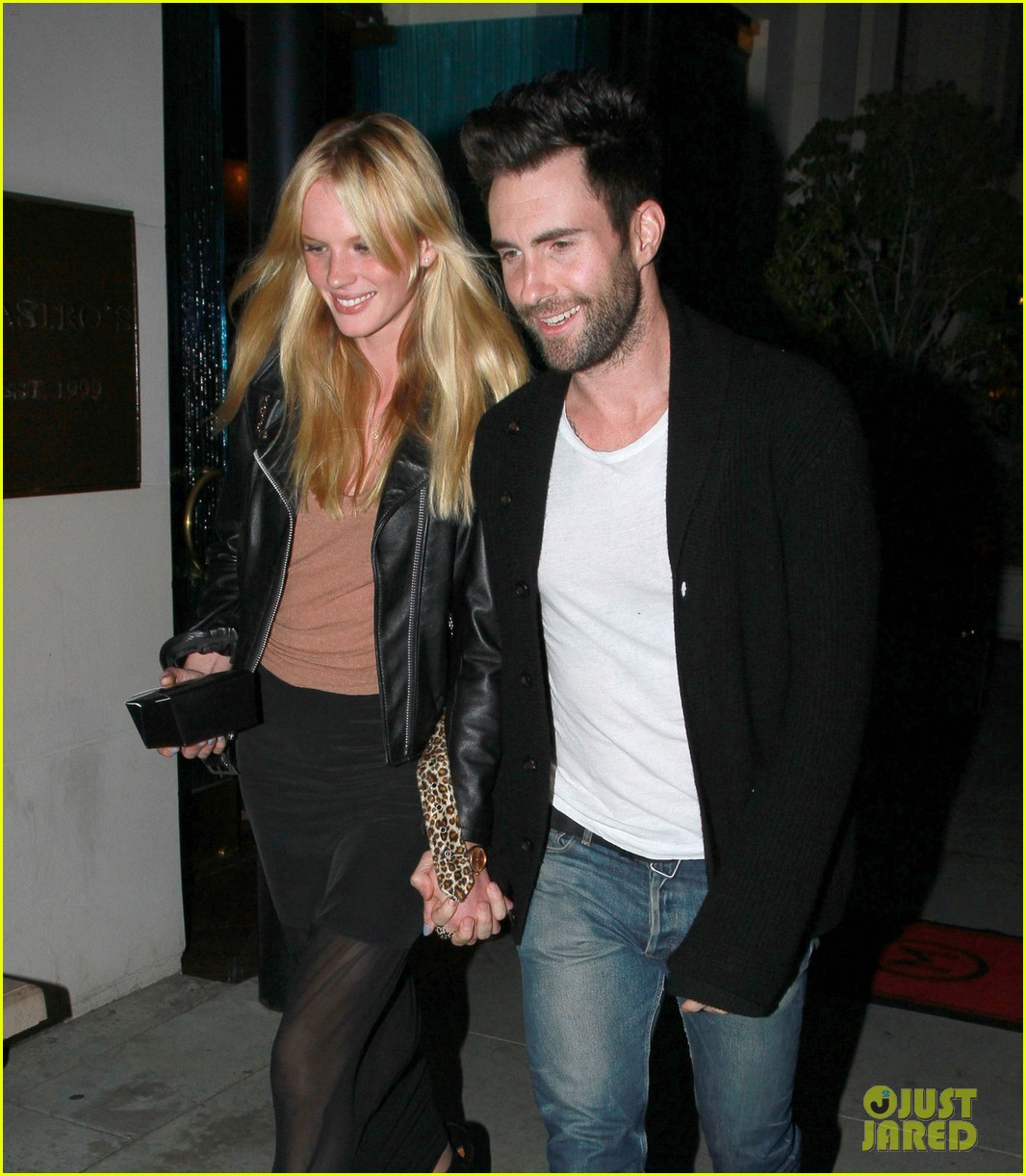 adam levine anne v mastros steakhouse 06