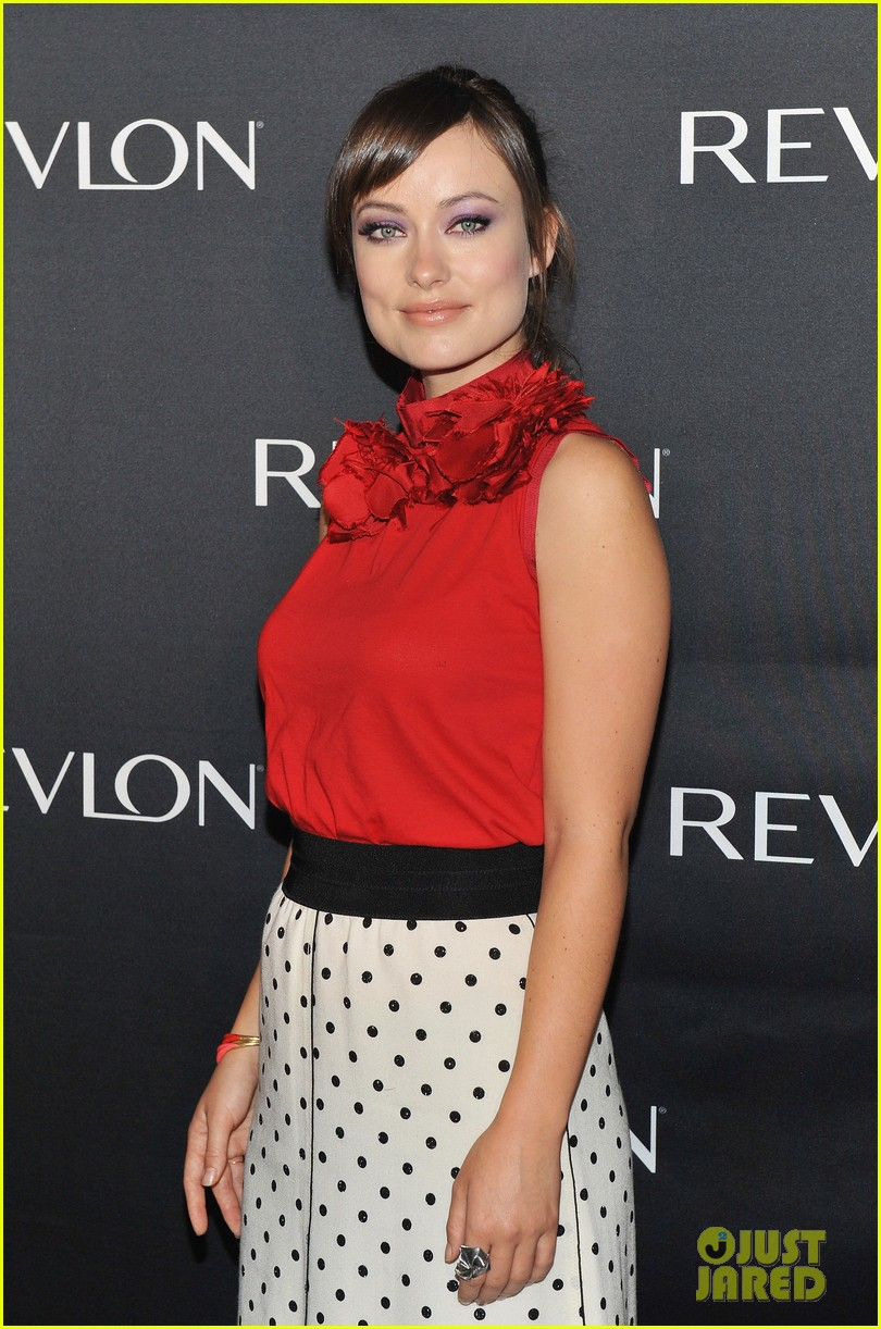 olivia wilde revlon announcement 06